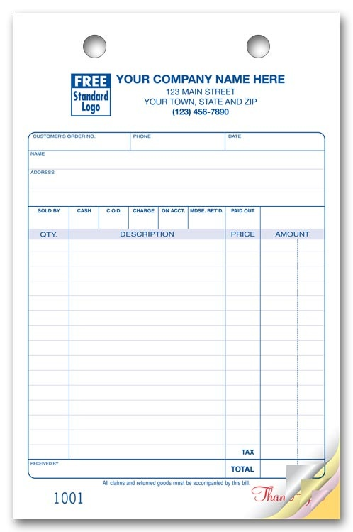 waybill sample form